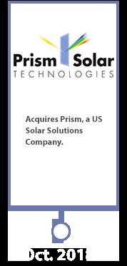 Prism Solar Technologies